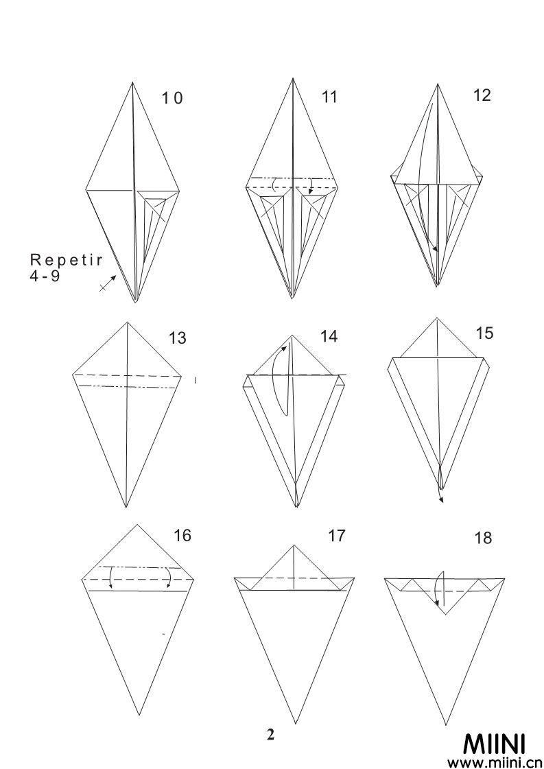 恶魔折纸教程步骤图 FernandoGilgado恶魔折纸怎么折?