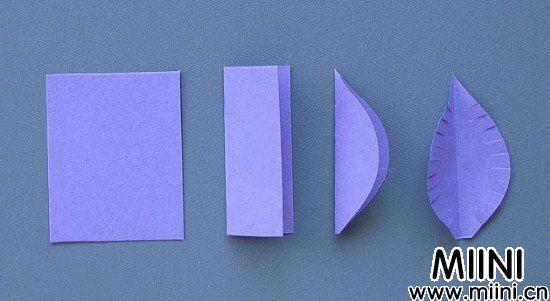 卷纸(衍纸)手工制作的三维花卉图案贺卡