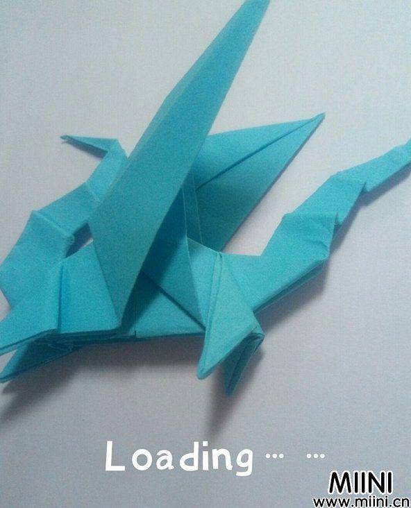 折纸飞龙 第18步