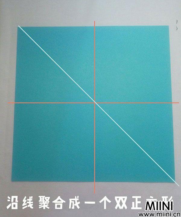 折纸飞龙 第1步