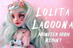 怪高娃娃,洛丽塔风的Lagoona娃改妙蛙种子