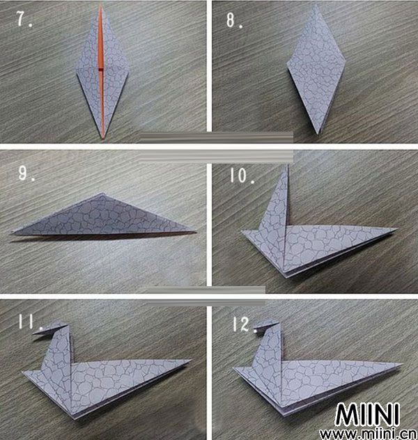霸王龙折纸图解2