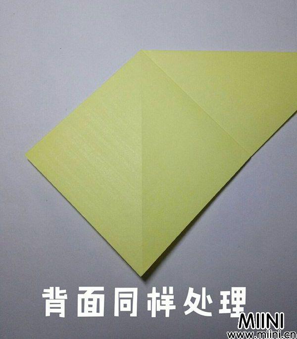 折纸鹿的折法图解教程,好看的鹿只需几步 第5步