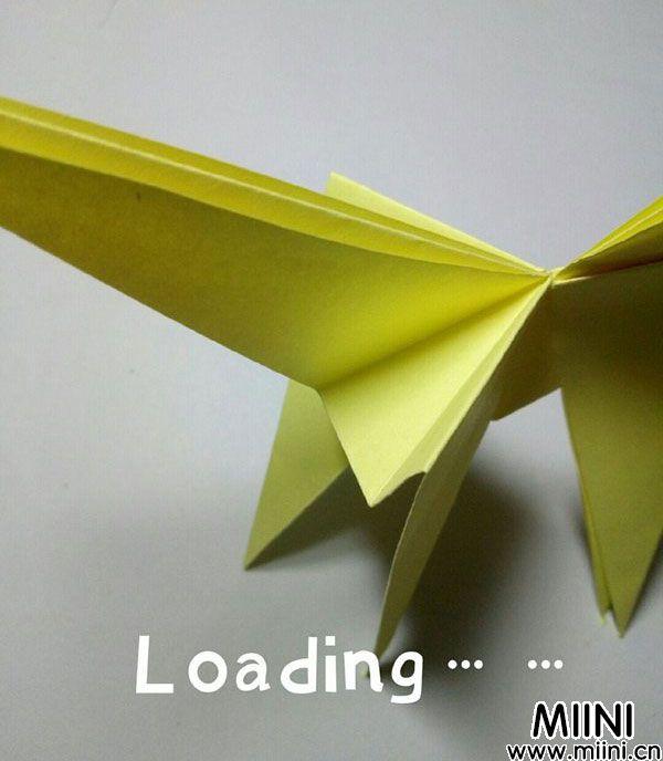 折纸鹿的折法图解教程,好看的鹿只需几步 第23步
