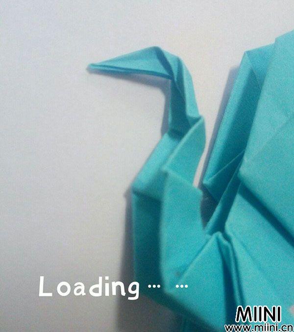 折纸飞龙 第19步
