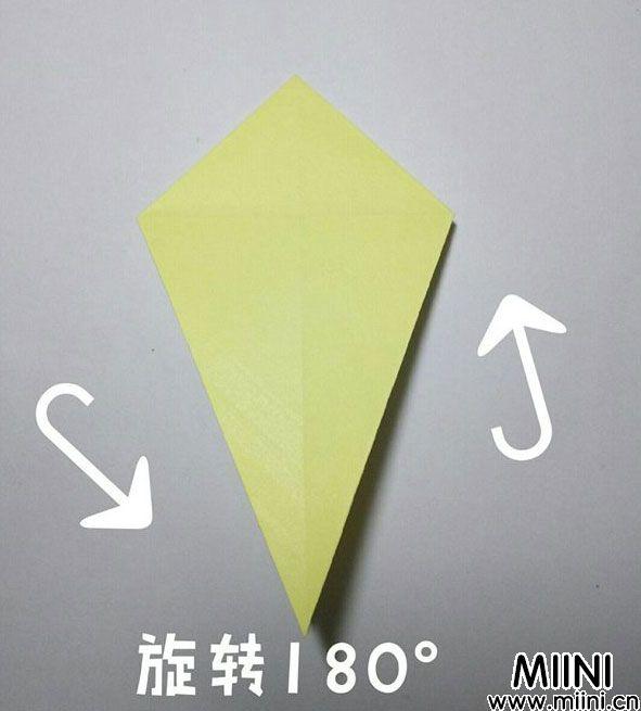 折纸鹿的折法图解教程,好看的鹿只需几步 第10步