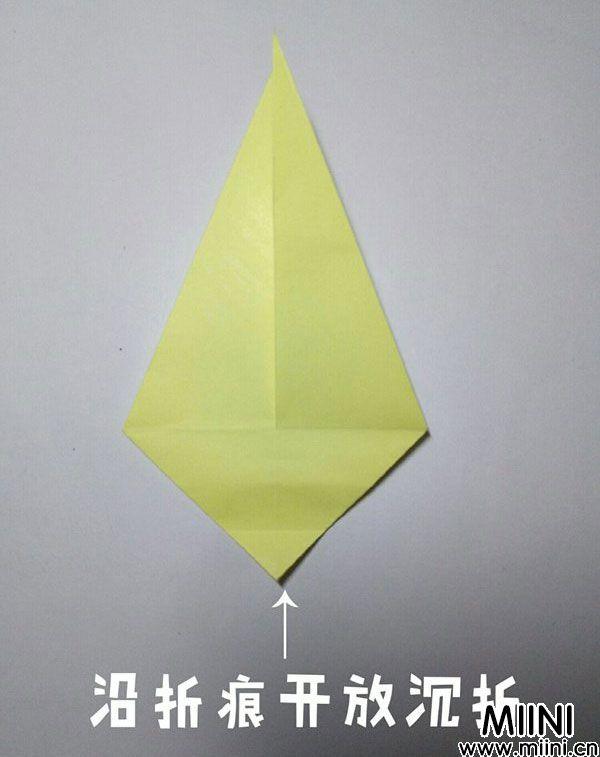 折纸鹿的折法图解教程,好看的鹿只需几步 第13步