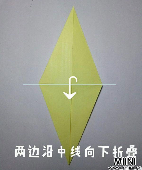 折纸鹿的折法图解教程,好看的鹿只需几步 第9步