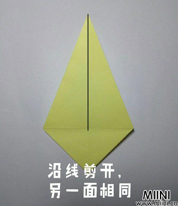折纸鹿的折法图解教程,好看的鹿只需几步 第11步