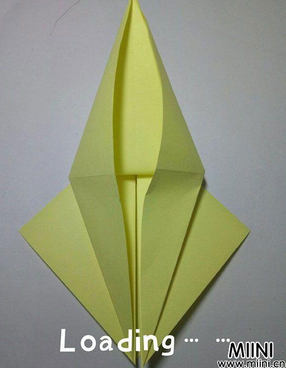折纸鹿的折法图解教程,好看的鹿只需几步 第7步