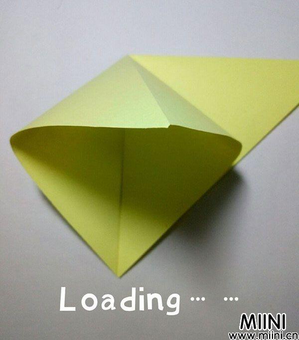 折纸鹿的折法图解教程,好看的鹿只需几步 第4步