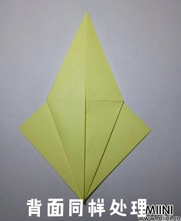 折纸鹿的折法图解教程,好看的鹿只需几步 第8步