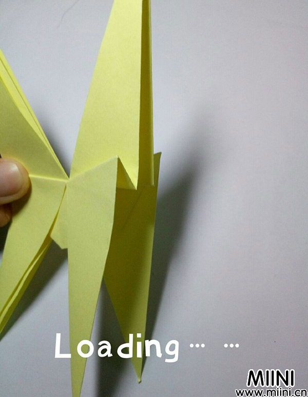 折纸鹿的折法图解教程,好看的鹿只需几步 第21步