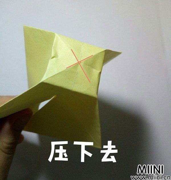 折纸鹿的折法图解教程,好看的鹿只需几步 第15步