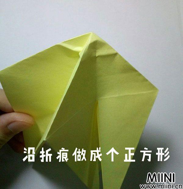 折纸鹿的折法图解教程,好看的鹿只需几步 第14步