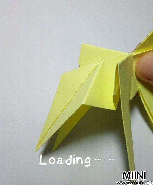 折纸鹿的折法图解教程,好看的鹿只需几步 第29步