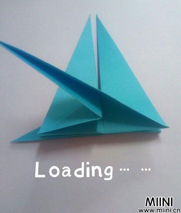 折纸飞龙 第9步