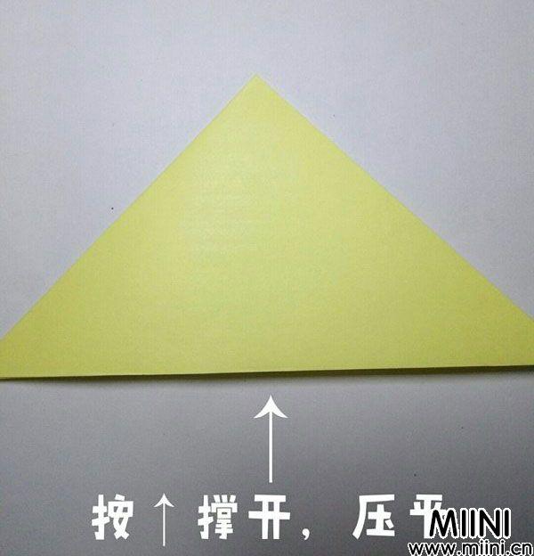 折纸鹿的折法图解教程,好看的鹿只需几步 第3步