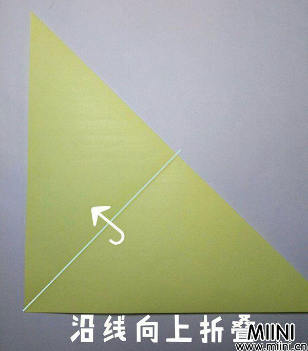折纸鹿的折法图解教程,好看的鹿只需几步 第2步