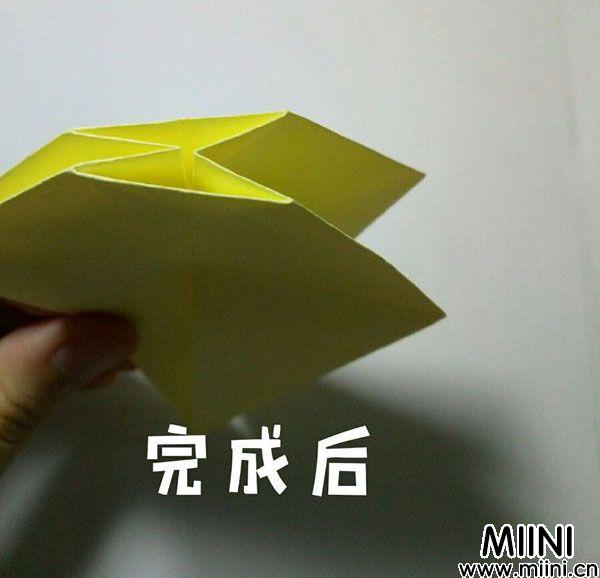 折纸鹿的折法图解教程,好看的鹿只需几步 第17步