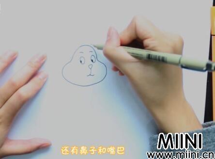 兔子简笔画怎么画?兔子简笔画步骤教程