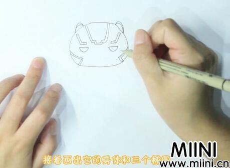 黑豹简笔画怎么画?黑豹简笔画步骤教程