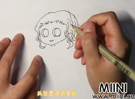 雷神简笔画怎么画?雷神简笔画步骤教程