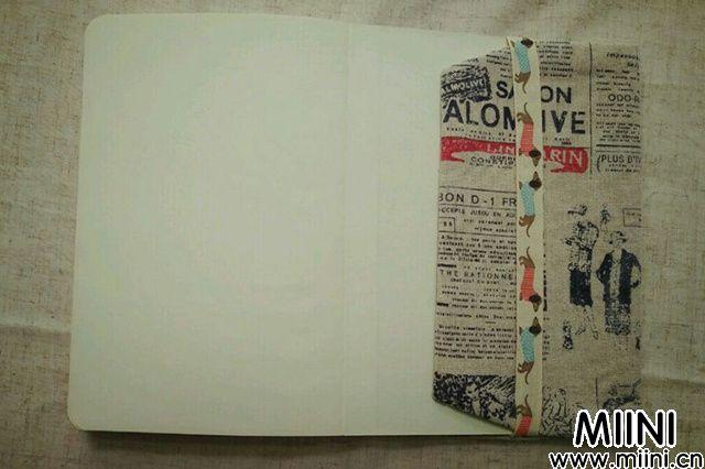 用布料制作一个书皮步骤教程