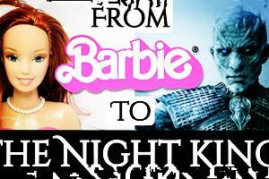 芭比梳头娃娃改夜王《权力的游戏》过程
