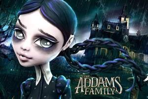 怪高娃娃改《亚当斯一家》黑暗哥特系女儿
