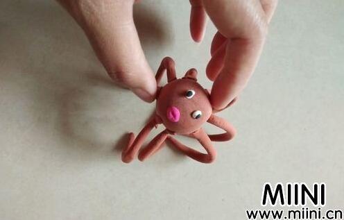 儿童手工超轻粘土制作一个大章鱼步骤教程