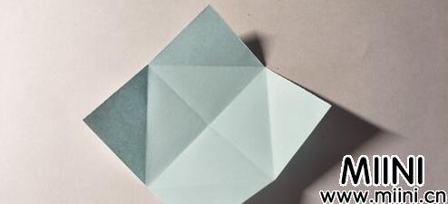 勋章五角星折纸