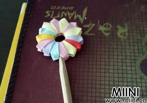 儿童折纸,简单的棒棒糖步骤教程