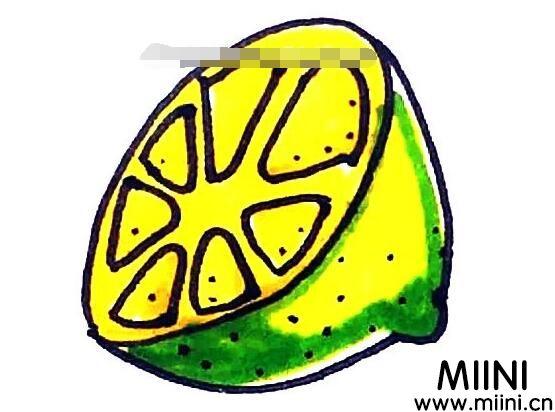 柠檬怎么<a href=http://www.miini.cn/hhds/ target=_blank class=infotextkey>画</a>?柠檬的画法教程