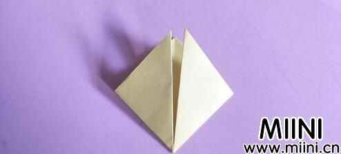 桃心折纸教程