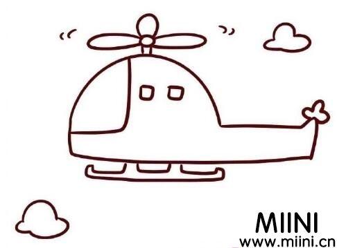 飞机简笔画怎么画?飞机简笔画教程