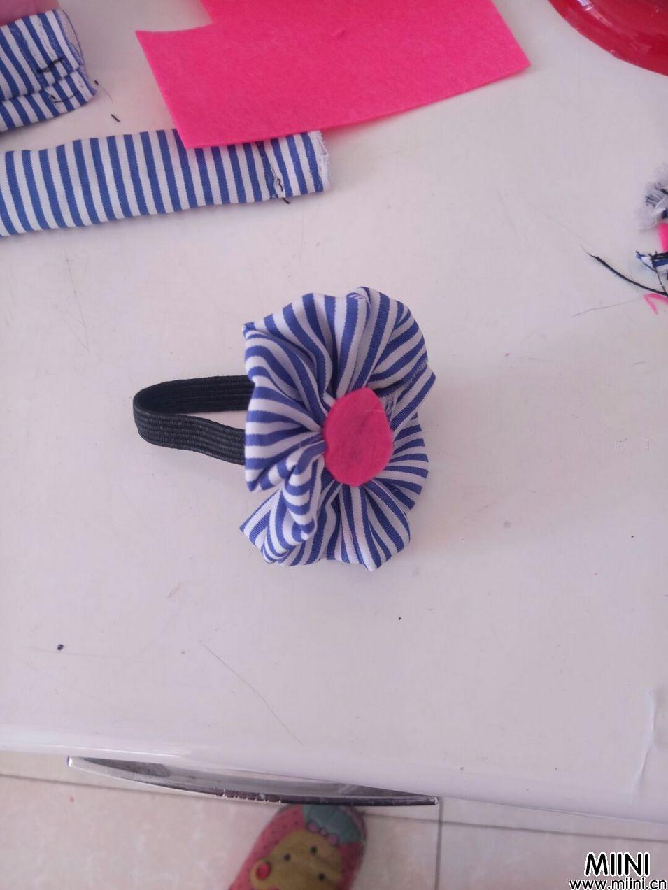 简单实用的布艺发绳图解教程