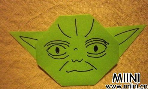 外星人头像折纸13.JPG