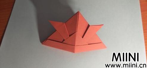 儿童手工牛角帽子折纸教程