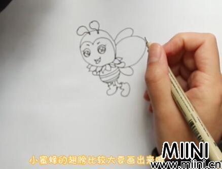 蜜蜂简笔画怎么画?蜜蜂简笔画步骤教程