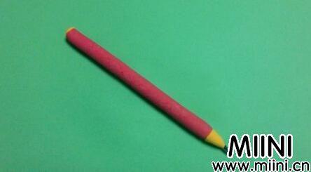超轻粘土制作铅笔步骤教程