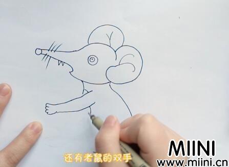 小老鼠简笔画怎么画?小老鼠简笔画步骤教程