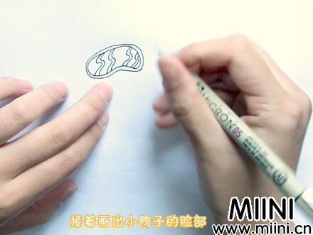 小鸭子简笔画怎么画?小鸭子简笔画步骤教程