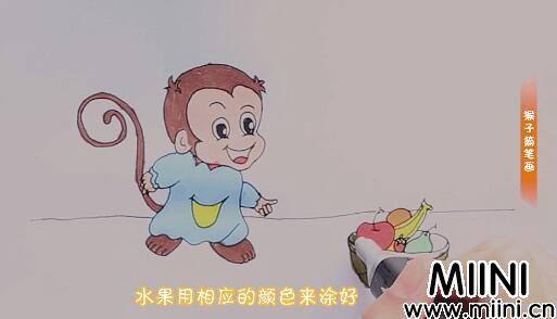 猴子简笔画怎么画?猴子简笔画画法步骤