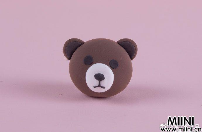 超轻粘土南瓜布朗熊的做法
