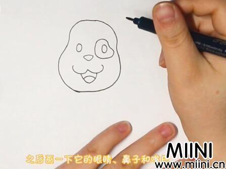 狗怎么画?狗的画法步骤教程