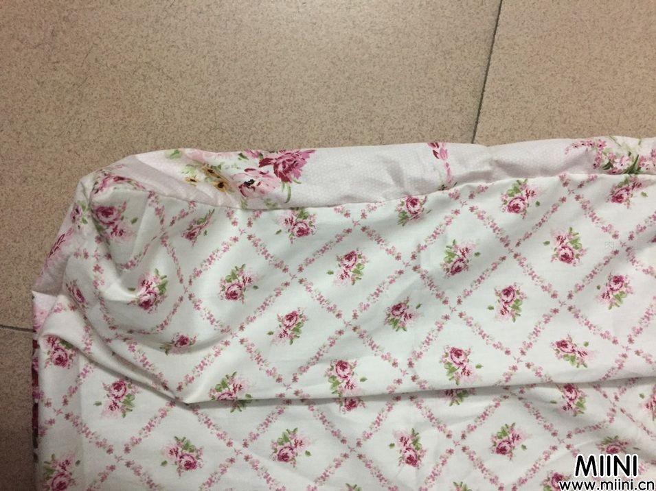 布艺手工免拉链简易枕头套制作步骤教程