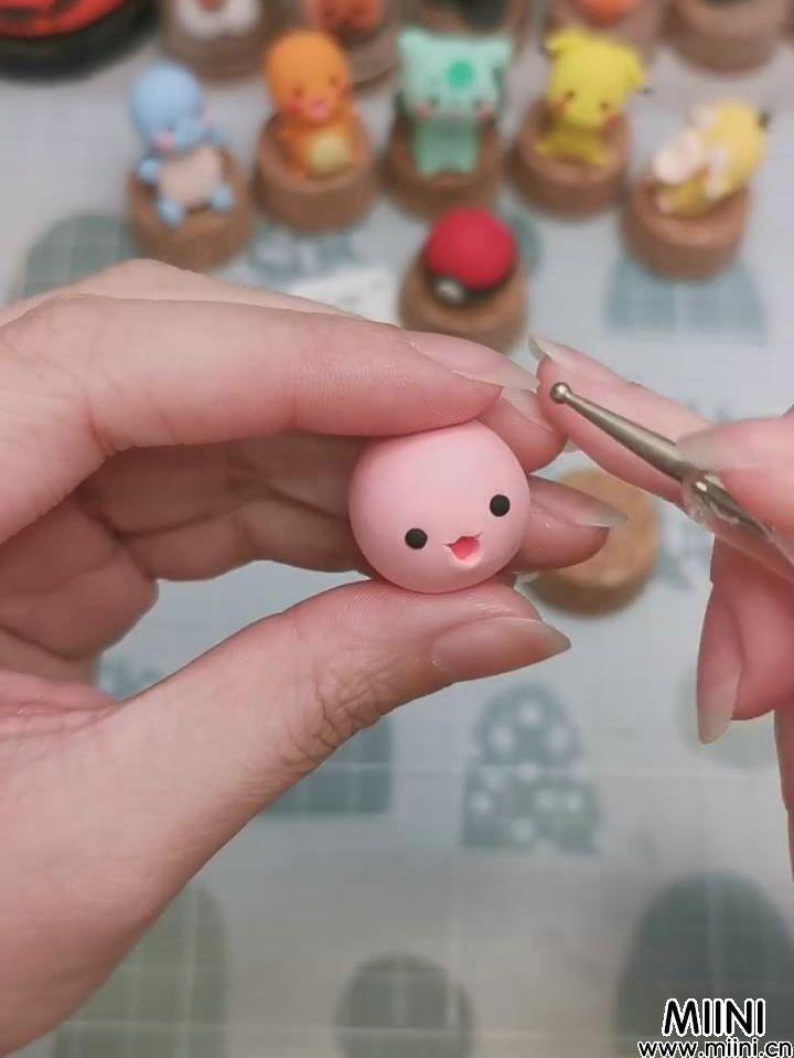 可爱的胖丁粘土小玩偶制作教程