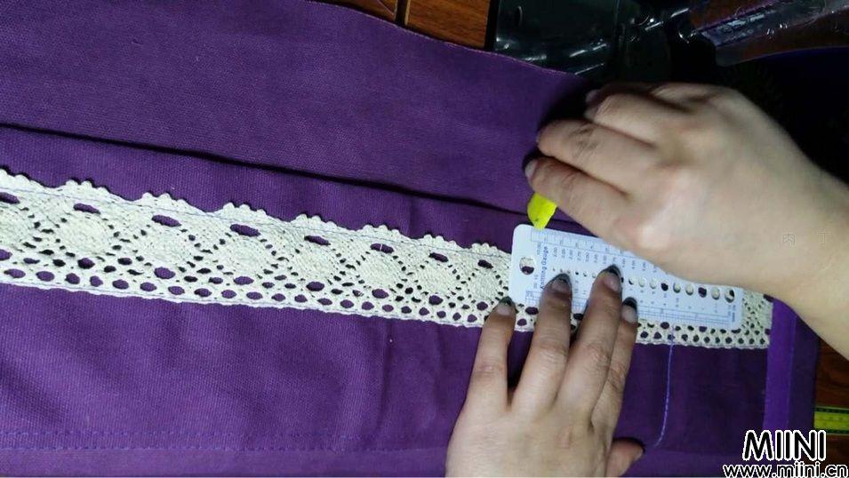 手工布艺工具收纳包制作步骤