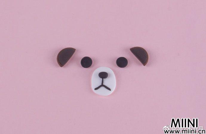 万圣节主题粘土南瓜布朗熊的做法